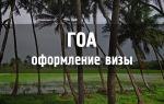 Россияне не должны пугаться оформления визы на Гоа