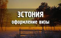 Гражданам РФ оформить визу в Эстонию не составит труда