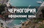 В каких случаях для поездки в Черногорию нужна виза