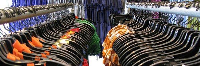 женские платья в магазине