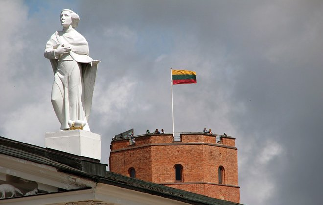 флаг над крепостью