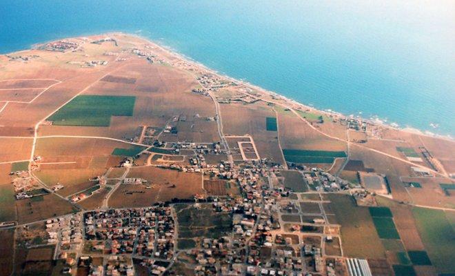 фото острова с воздуха