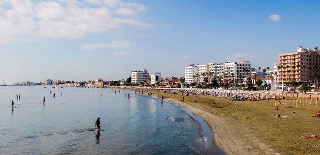 ларнака, городской пляж