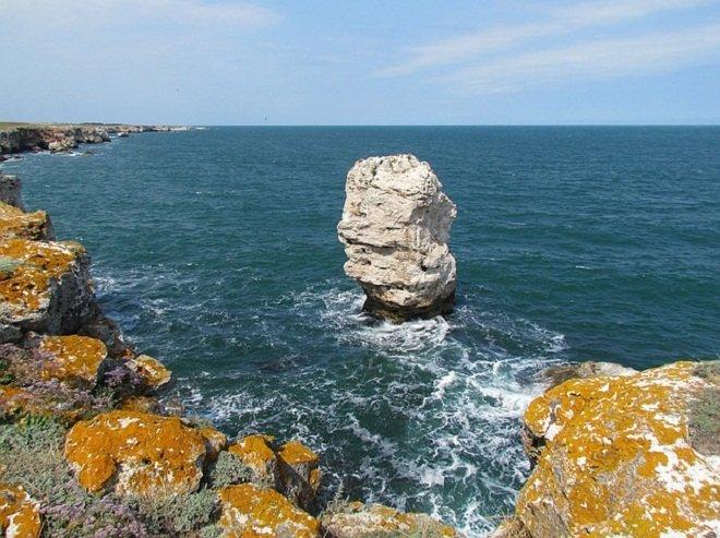 Вид на прибрежные воды