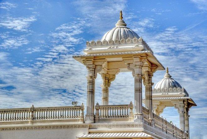 Индуистский храм в Атланте