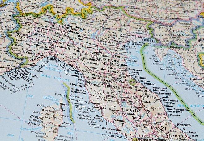 карта северной части