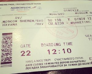 Билет в Гавану