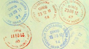 Пограничный штамп Турции