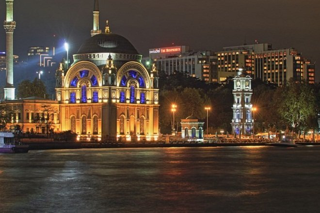 Стамбул вечером